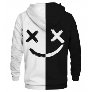 BW Face Hoodie