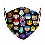 Pokemoji Face Mask