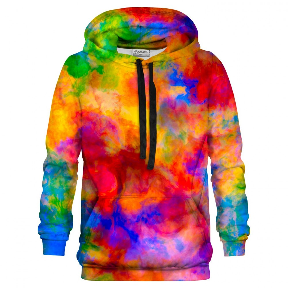 Color Freak Holi Clouds Hoodie